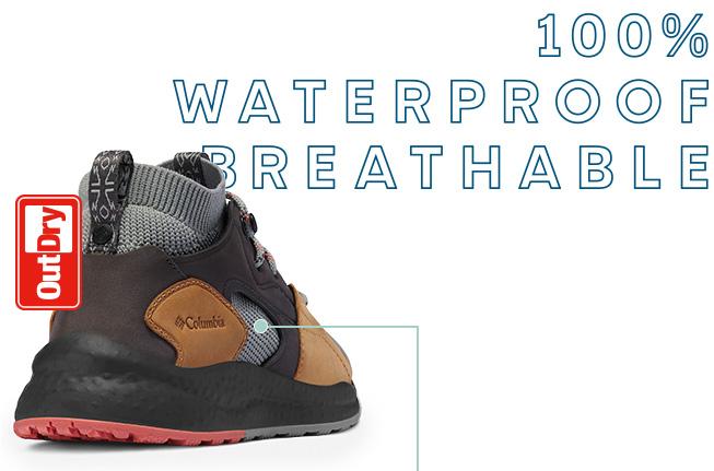 SH/FT waterproof shoe, 100% Waterproof Breathable.