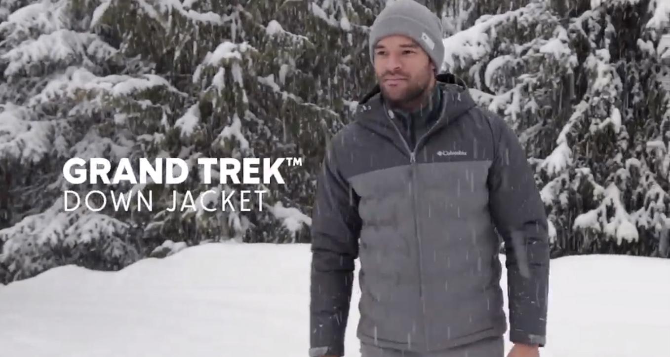Columbia Grand Trek/daunenjacke Doudoune pour homme Homme